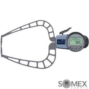 Digitální tloušťkoměr s rameny pro měření do 50 mm - doteky s břitem