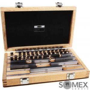 Koncové měrky ocelové INSIZE - sada 8 kusů
