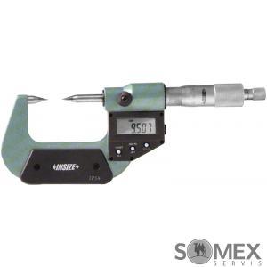 Digitální třmenový mikrometr s hrotovými doteky a ochranou IP54