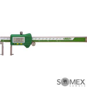 Digitální posuvné měřítko pro měření drážek