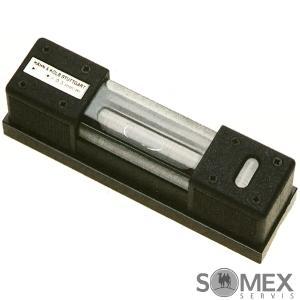 Přesná strojní podélná vodováha - libela 0,1 mm/m