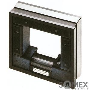 Přesná strojní rámová vodováha - libela 0,3 mm/m